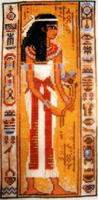 """Схема вышивки  """"египет """": таблица цветов."""
